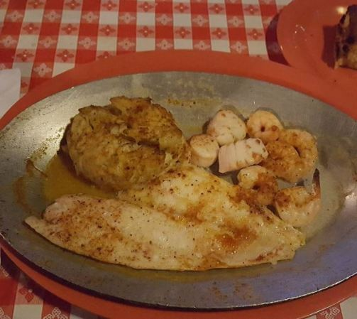 Broiled Seafood Platter