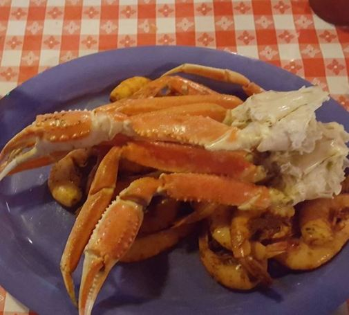 Snow Crab and Shrimp Platter