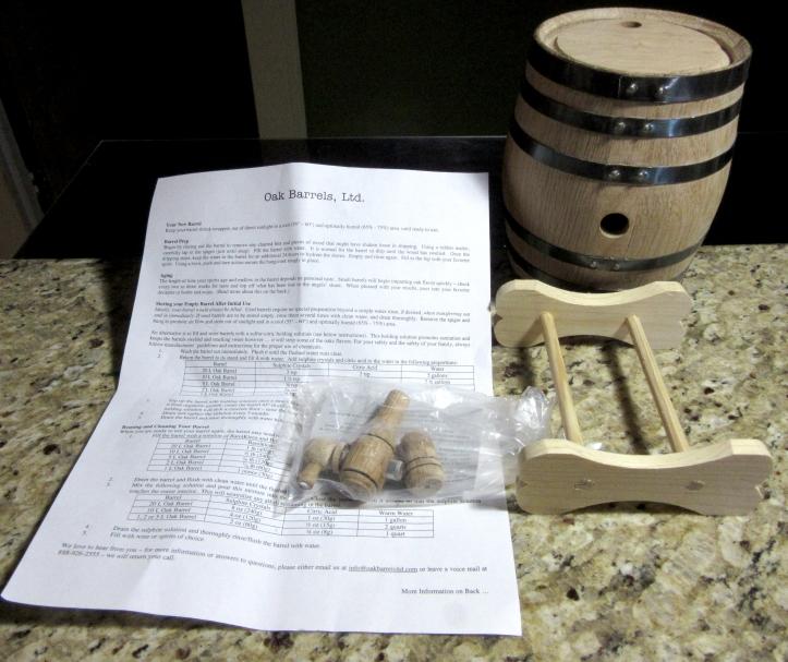 Barrel w-Instructions